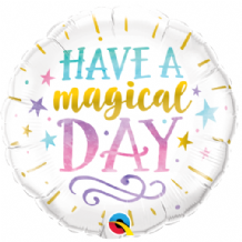 "Have A Magical Day Foil Balloon (18"") 1pc"
